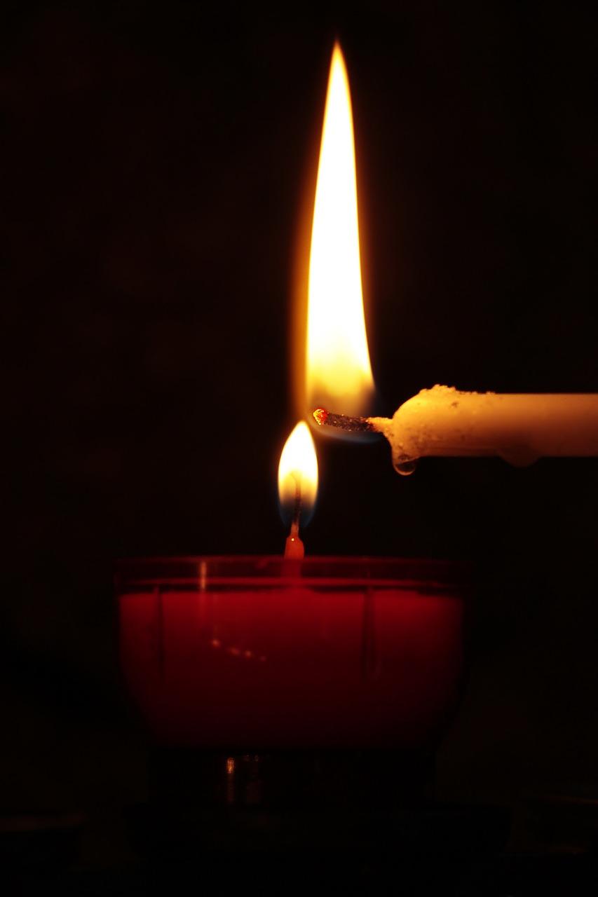 Kerze Trauer pixabay