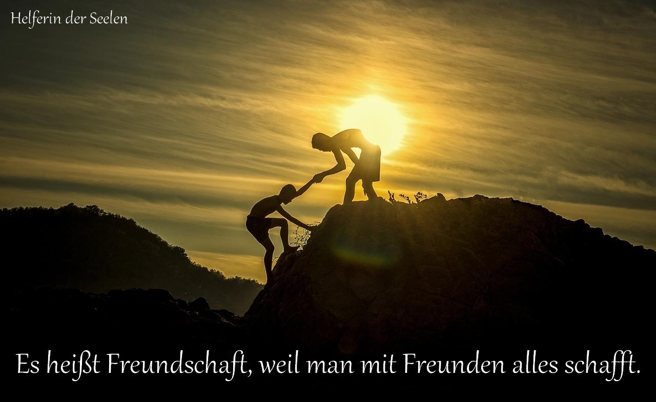 Freundschaft pixabay Text