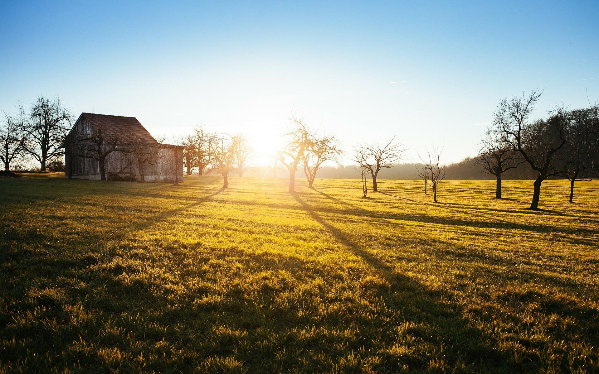 Hütte Auszeit Sonne pixabay