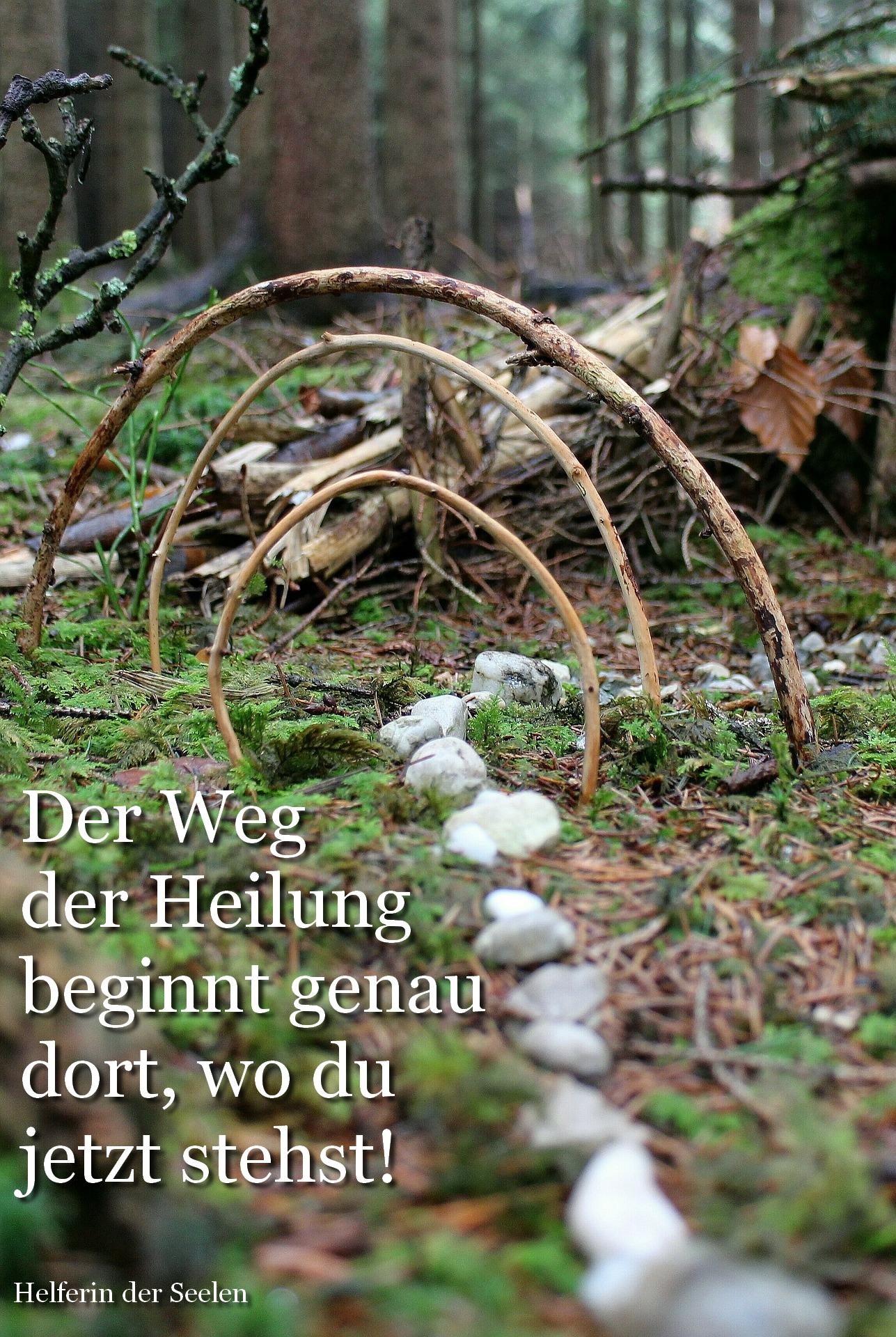 Weg Steine Ritual pixabay Text