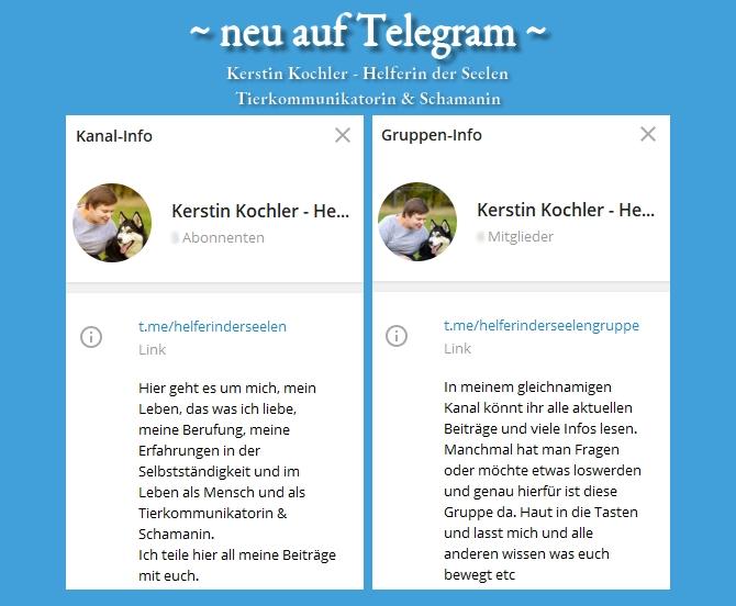 neu auf Telegram